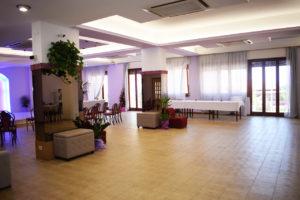 la sala polivalente del residence belvedere