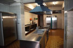 la cucina del residence belvedere