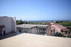 vista dalle camere del residence belvedere